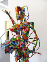 Schwertleite 2011  Holz, Pappmaché, Kabel, Styropor, Acryl  180 x 60 x 70 In Privatbesitz München