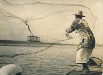 Japon, pêcheur