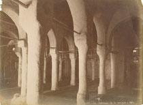Tunisie, Kairouan : mosquée Sidi Okba, vers 1880