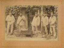 Personnel de nettoyage, Paris