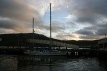 Fischerboot in Ullapool (Highlands).