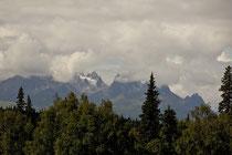 Im McKinley View Restaurant & Lodge konnten wir sehr gut zu Mittag speisen und auf den höchsten Berg Nordamerikas blicken.