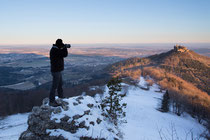 Der Fotograf bei der Arbeit - vielen Dank an Sascha für das Arbeitsfoto!