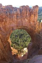 Natural Bridge (geologisch ist es keine Brücke, sondern ein Bogen).