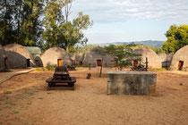 Ein Haufen von Bienenkorbhäusern! ;-) Zu der Jahreszeit als wir in Swaziland waren (Juni) war das gesamte Ressort fast leer.