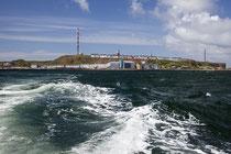 """Helgoland von der Dünenfähre """"Witte Kliff"""" aus fotografiert."""