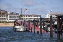 Der Hafen von Helgoland,