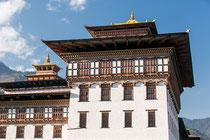In den oberen Stockwerken des Turms befindet sich die Verwaltungsräume des Königs.