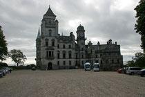 Das absolute Highlight des Tages war Dunrobin Castle. Das Schloß liegt nahe Ostküste und ist von der Straße aus gut erreichbar.