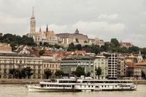 Fotografie von der Stadthälfte Buda.