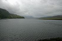 Loch Duich bei Dorni (Highlands).