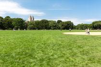Sportfeld im Central Park