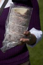 Nicht nur Kaffee und Kuchen gab es ... eine weitere sehr gute Spezialität konnten wir am Palast kaufen: Kürtöskalacs, der ungarischer Baumkuchen.