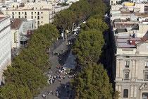 La Rambla oder Les Rambles (spanisch Las Ramblas) ist eine 1.258,59 Meter lange Promenade im Zentrum von Barcelona.