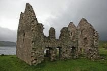 Am Ardvreck Castle am Loch Assynt machten wir eine kurze Pause.