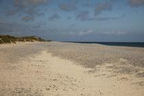 Strand der Düne.