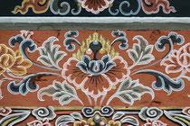 Die Lotusblume ist eines der acht Glückssymbole Bhutans und steht für vollkommene Reinheit.