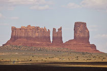 Stagecoach, Bear & Rabbit and Castle Butte