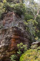 Der Giant Stairway führt bis zu den Three Sisters.