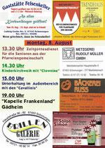Kirchweih Schonungen 2011 - Flyer