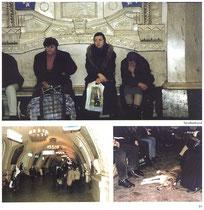 Einen Besuch machen - In der Metro - Umsteigen