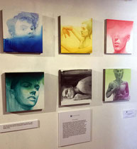 """8"""" x 8"""" water color's on clay panel by Ali Cavanaugh   $1800 ea or $10000 set"""