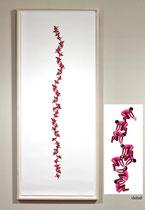 Self Reliance  archival print on enhanced matte paper  Melanie Manos 19.6 x 61.5 framed  $550