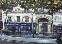La Cour St. Hilaire   Ltd Ed. Serigraph  25 x 38 in