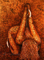 Untitled  Acrylic on Canvas/ mixed media  Jill Huxtable  $2700