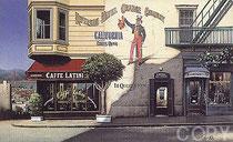 """San Francisco, (Serigraph)   15.5 x 25.5"""""""