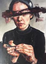 """Emily II 24"""" x 36"""" oil on canvas by Tucker Eason  $4450"""