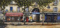 La Vieille Provence  Ltd Ed. Serigraph  21 x 45 in
