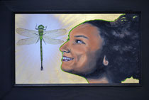 Hope with frame  (representational of all framed pieces)