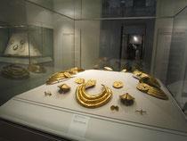 Wunderschöner Goldschmuck aus altirischer Zeit