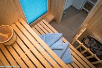 Verwöhnen Sie sich mit einem Saunabad