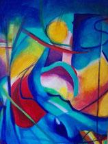 "Lothar Rafalski: ""Veränderung""<br>Acryl auf Leinwand – 80 × 60 cm<br>380,-€<br>e-mail: L.rafalski@gmx.de"