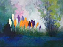 "Marwayit Hapiz: ""Frühling""<br>Öl auf Leinwand – 60 × 80 cm<br>1.600,-€<br>Tel: 0049- (0)176 61412616"