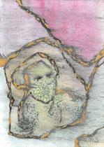 "Andreas M. Sames: ""Covid and the decadent search for the end""<br>aqua marmorata/memorata<br>(Mischtechnik auf Aquarellbasis) – 29,5 × 21 cm<br>270,-€<br>Tel. 08165 601971"