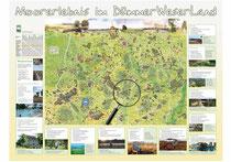 Informationstafeln, 120x80 cm, Auftraggeber DümmerWeserLand Touristik