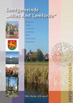 """Informationsbroschüre, DinA 4, 36 Seiten, Auftraggeber Samtgemeinde """"Altes Amt Lemförde"""""""