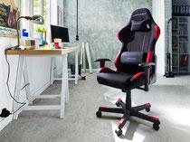 Die eigene Gesundheit ist auch Gamern wichtig, ein ergonomischer Stuhl kann vor Rückenschmerzen schützen.
