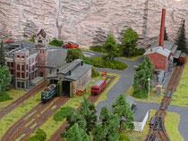 Fabrik, Spedition und Dieselhalle