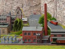 Fabrik und Spedition