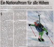 Kleine Zeitung Oberkärnten 11.1.08