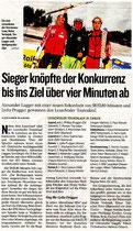 Kleine Zeitung Oberkärnten 7.2.08