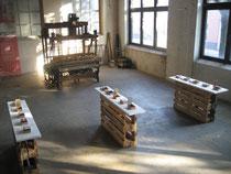 Herzkammern - Installation im LWL Textilmuseum Bocholt
