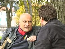 Il capitano Scavuzzo (Ivan Martinelli) e Mario (Andrea Broggi)
