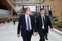 Arnaud Montebourg et Jean-Jack Queyranne - Lyon - Octobre 2013 - Photo © Anik COUBLE