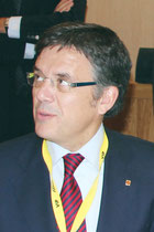 Lluis Recorder I Miralles, Ministre du Territoire et du Developpement Durable en Catalogne - Lyon - 0ctobre 2011  © Anik COUBLE
