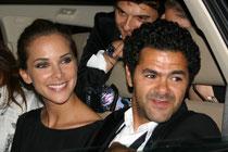 Jamel DEBBOUZE et son épouse Melissa THEURIAU - Festival de Cannes 2010 © Anik COUBLE